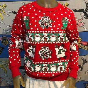 Vintage Frosty The Snowman Christmas Sweatshirt S